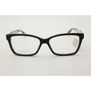 Gucci Eyeglasses GG 3120 001 Glossy Black 52mm